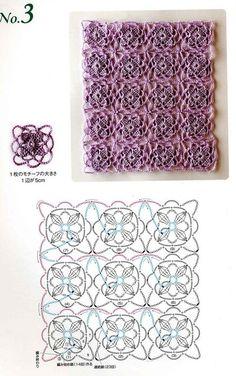 Crochet Lacy Pattern <3