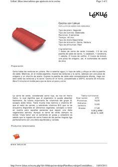 ISSUU - Recetas segundos lekue by mofs