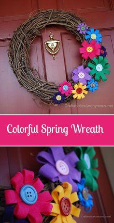 Wreath Crafts, Diy Wreath, Diy Crafts, Tulle Wreath, Decor Crafts, Wreath Ideas, Easter Wreaths, Holiday Wreaths, Yarn Wreaths