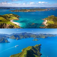 Bay of Islands vs. Marlborough Sounds #wheretogo #NewZealand #itsTime2Go! Find out our thoughts by visiting link in bio