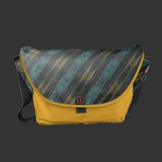 Purchase your next Pattern messenger bag from Zazzle. Choose one of our great designs and order your messenger bag today! Designer Messenger Bags, Diaper Bag, Personalized Gifts, Yellow, Shopping, Diaper Bags, Personalised Gifts, Gold