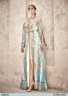 Arab Fashion, Moroccan Caftan, Caftan Dress, Oriental Fashion, Traditional Dresses, Kimono Top, Style Inspiration, Bridal, Wedding Dresses