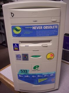 computer that claimed to be never obsolete