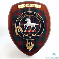 Extra Large Clan Wall Plaque