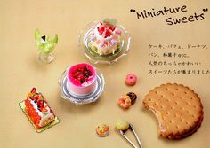 Japanese Crafting book Clay Miniature Sweets by beautifulwork, $22.00