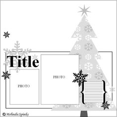 2 photo 1 page scrapbook layout christmas Scrapbook Layout Sketches, Scrapbook Templates, Card Sketches, Scrapbooking Layouts, Scrapbook Designs, Christmas Sketch, Christmas Cards, Christmas Layout, Christmas Challenge