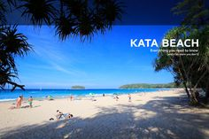 The pleasant bay of Kata, just a few minutes south of Karon Beach, entices and…