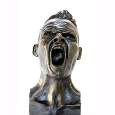 Kunst - brons beeld -  Animi Motus 2 - Ann Dierckx
