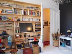 House Tour: A Globally Eclectic Brooklyn Brownstone | Apartment Therapy