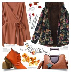 """""""Fall Fashion -Newchic-"""" by dolly-valkyrie ❤ liked on Polyvore featuring Gracila and newchic"""