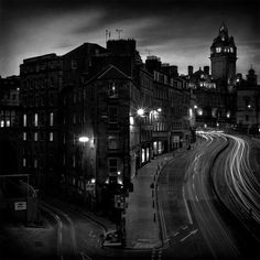 Black and White, Edinburgh City..can't wait to go there!