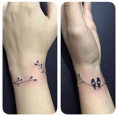 Bird tattoo wrist tattoo one tattoo couple tattoo friend tattoo Vogel Tattoo Handgelenk Tattoo ein Tattoo paar Tattoo Freund Tattoo Simple Wrist Tattoos, Bird Tattoo Wrist, Tattoo Designs Wrist, Best Tattoo Designs, Simple Couples Tattoos, Simple Bird Tattoo, Classy Tattoos, Branch Tattoo, Mini Tattoos
