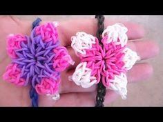 PULSERA ELASTICA EN FLOR DE HIBISCO // Flower Bracelet/Charm - YouTube
