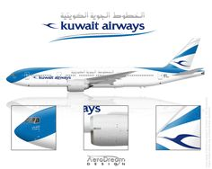 Kuwait Airways B777