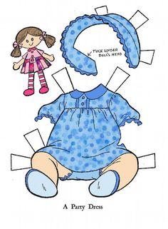 Baby paper dolls 180