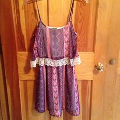 Brand New Multi-Colored Dress! Brand New Multi-colored Dress! Great for Summer, it's very light and the colors blend so well together.  Rue 21 Dresses