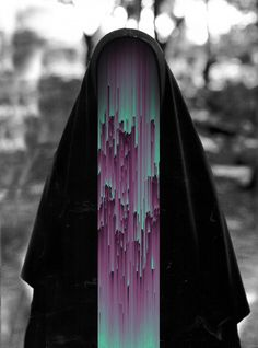 History through digital filters. The visual pleasure of glitch art, by Italian artist Giacomo Carmagnola All photos from hintmag & dazed Glitch Art, Glitch Kunst, Glitch Photo, Figurative Kunst, Photocollage, Witch House, Psychedelic Art, Dark Art, Collage Art