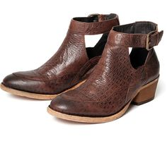 Women's Ceres (Brown) Leather Ankle Boot | H Shoes