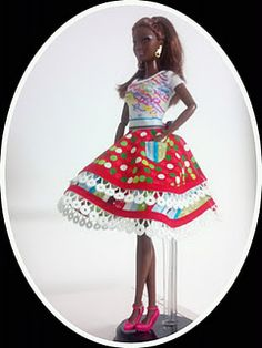 "Tips for sewing itty-bitty doll clothes aka Barbie and other 11-1/2"" fashion dolls"
