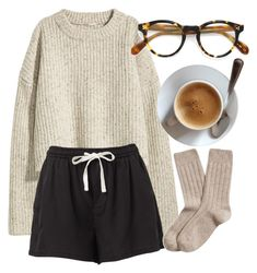 """Untitled #7137"" by laurenmboot ❤ liked on Polyvore featuring H&M, Oliver Peoples and Brooks Brothers"