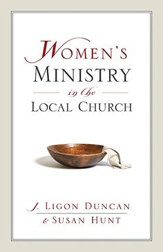 Susan Hunt and Ligon Duncan walk through the Scriptures to help readers better understand what it means to have an effective, biblical women's ministry in the church. The benefits of women's ministries are great: training and discipling, evangelizing, and reaching out to the poor and needy. This book, written by seasoned ministry leaders, provides many proven tools to help start a women's ministry in your church.-Good read