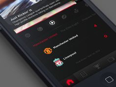 SportsCenter App by CreativeDash Ios Ui, Ui Design Inspiration, User Interface Design, App, Sports, Hs Sports, Apps, Sport, Ui Design