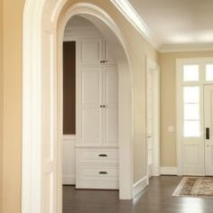Front door sidelights and transom