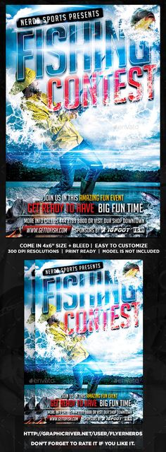 Fishing tournament flyer template flyer template template and fishing contest flyer saigontimesfo
