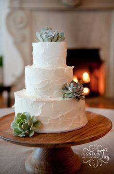 Jessica Frey Photography, Santa Barbara Wedding, Montecito Country Club wedding reception, San Ysidro Ranch wedding, teal and lavender wedding, wedding cake with succulent, TOAST Santa Barbara, wedding cake ideas