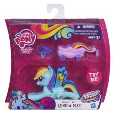 Hasbro My Little Pony Zoom 'n Go Rainbow Dash Pony - for sale online Dash Dolls, Nail Art For Kids, Hasbro My Little Pony, My Little Pony Friendship, Amazing Adventures, Rainbow Dash, Pretty Little, Kids Toys, Children