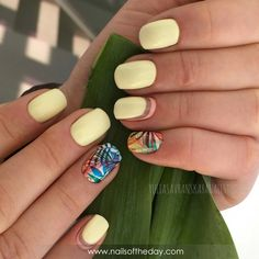 Nail Art Designs and Colors for Summer Fancy Nails, Pink Nails, Cute Nails, Pretty Nails, Colorful Nail Designs, Nail Art Designs, Shellac Nails, Acrylic Nails, Simple Gel Nails