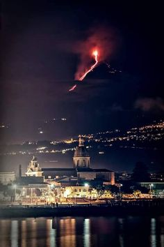 Etna and the city of catania