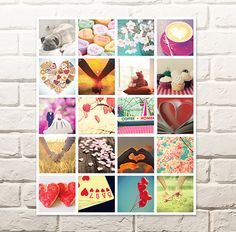 Last-minute gifts made easy: collage prints from your smartphone Make It Simple, Valentines Day, Smartphone, Collage, Easy, Prints, How To Make, Cards, Inspiration