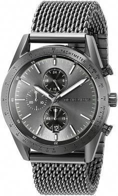 8751ea3617d0 Michael Kors Men s Accelerator Gunmetal Watch An impressive masculine  chronograph that looks like nothing else! Great with a suit