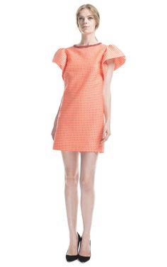MSGM Micro Check Jacquard Dress $510($255 deposit)