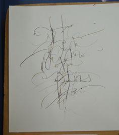 FERNÁNDEZ, Daniela  TP#2 Textura / Caligrafía gestual - Tipografía III Expresiva - FAD - UNCuyo