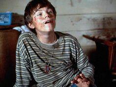 Arnie Grape (Leonardo DiCaprio) in  What's Eating Gilbert Grape, 1993