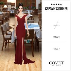 Covet Fashion - Daily: Captain's Dinner ✨4.90 (4.10 from votes)