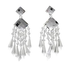 Balmain crystal earrings Fall/Winter 2013