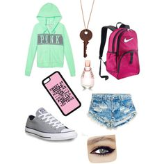 A fashion look from January 2015 featuring Victoria's Secret PINK hoodies, Runwaydreamz shorts and Converse sneakers. Browse and shop related looks.