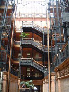 Bradbury Building, Los Angeles - interior