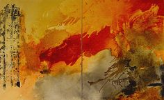 Michel Leah Keck Expressive Or Abstract Paintings