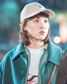 Prettiest weightlifter that can ever exist in the face of this world❤️💞 Korean Celebrities, Korean Actors, Weightlifting Fairy Kim Bok Joo Wallpapers, Weightlifting Kim Bok Joo, Weighlifting Fairy Kim Bok Joo, Nam Joo Hyuk Lee Sung Kyung, Kdrama, Joon Hyung, Kim Book