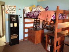 My college dorm room!