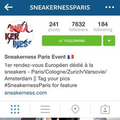 Hello All!  I just wanted to post and show support for my good friends @sneakernessparis  This is truly one of the premier sneaker events in the world! You have sellers from all over Europe and also all the hottest brands and shops under 1 roof!  The management is top notch and they do everything in their power to insure each person that attends has the best experience possible.  Follow their IG page as there are many giveaways and chances to win exclusive items all year long!  There are…