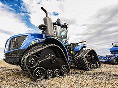 Modular tracks: Tractors, New Holland, John Deere, Case, and Agco - ATI Modular Track Systems Big Tractors, Ford Tractors, John Deere Tractors, Agriculture Tractor, Farming, Tractor Machine, Truck And Tractor Pull, Ranch Riding, New Holland Agriculture