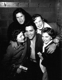 Elvis - Backstage Ottawa April 3rd 1957