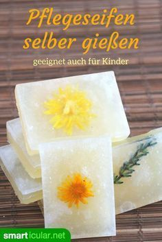 Pflegeseife selber gießen – ohne ätzende Chemikalien (auch für Kinder) To make soap yourself is too complex and associated with toxic fumes? Does not have to be, with this method even children can pour soap themselves. Bath & Body Works, Bath And Body, Makeup Revolution, Amazing Animals, Homemade Soap Recipes, Soap Base, Milk Soap, Facial Care, Home Made Soap