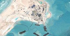 Trung Quốc trang bị nhà chứa máy bay và vũ khí trên Biển Đông