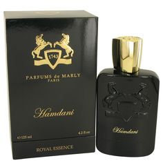 New #Fragrance #Perfume #Scent on #Sale  Hamdani by Parfums De Marly 4.2 oz EDP Spray - An oriental and woody fragrance, Hamdani by Parfums de Marly brings you a strong fragrance with many standout notes. Launched in 2013, this perfume was created with Fabrice Pellegrin. You?ll be surrounded by balsamic, woody, smoky accords rounded out with leather and warm spice.. Buy now at http://www.yourhotperfume.com/hamdani-by-parfums-de-marly-4-2-oz-edp-spray.html